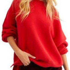 Free People Easy Street Tunic in Red